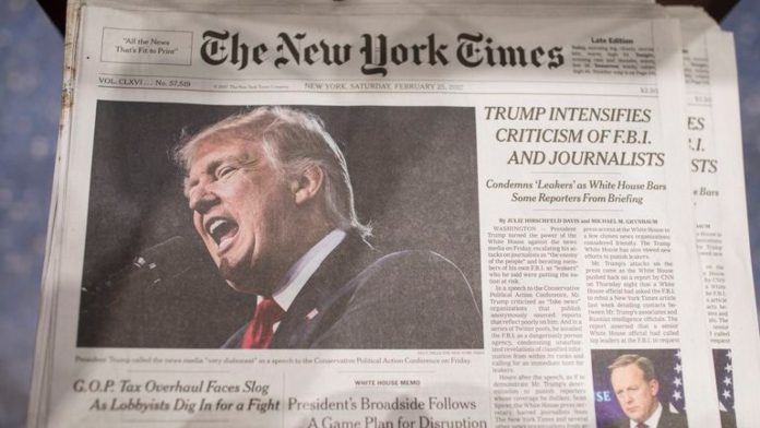 Trump Hits N Y Times Washington Post Where It Hurts Orders Subscriptions Cancelled Christian Action